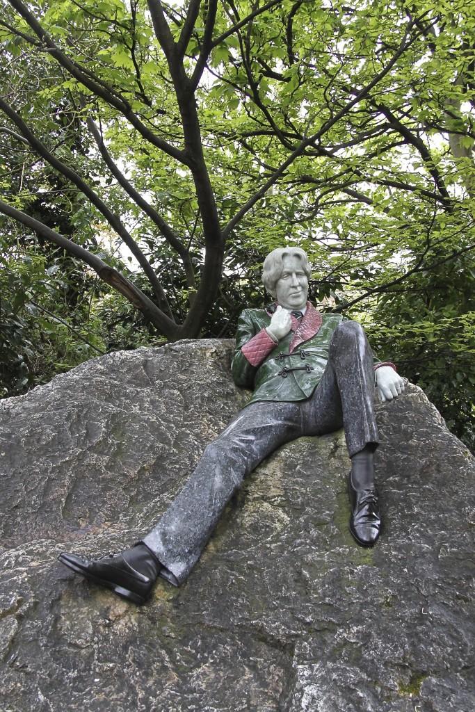 La statue D'Oscar Wilde