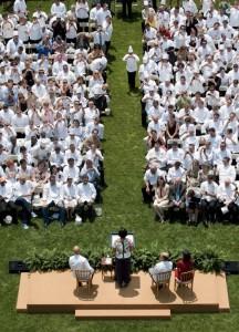 Les chefs à la Maison Blanche