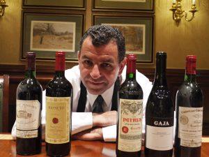 Vincent Feraud et la collection de vins du Ritz Carlton