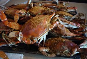 Dégustation de crabes